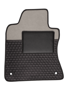 Quality Car Floor Mats - Sensitive - Gray Black