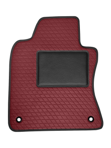 Quality Car Floor Mats - Comfort - Burgandy